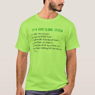 私はよく全体的な市民です Tシャツ