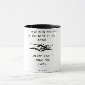 私はよりよい星を知っています マグカップ