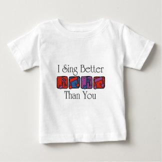 私はよりよく歌います ベビーTシャツ