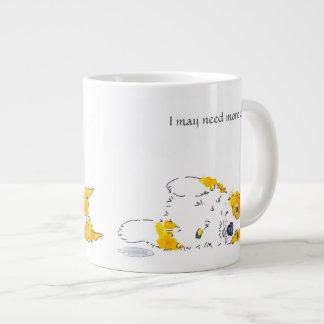 私はより多くのコーヒーコーギーのマグを必要とする場合もあります ジャンボコーヒーマグカップ