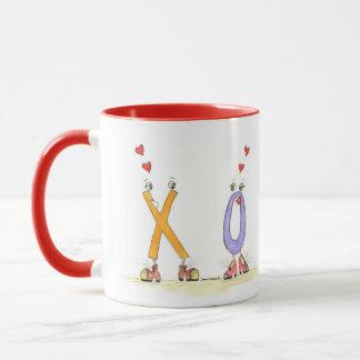 私はより多くのコーヒー・マグX愛O愛します マグカップ