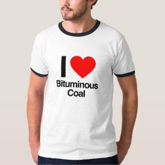 私はれき青炭を愛します Tシャツ