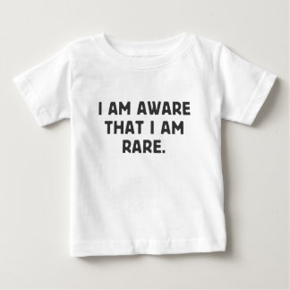私はわかっています、私がまれのそれ ベビーTシャツ