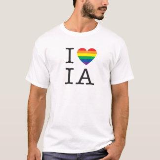 私はアイオワのワイシャツを愛します Tシャツ