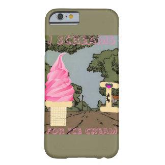 私はアイスクリームのために叫びます BARELY THERE iPhone 6 ケース