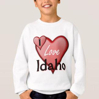 私はアイダホを愛します スウェットシャツ