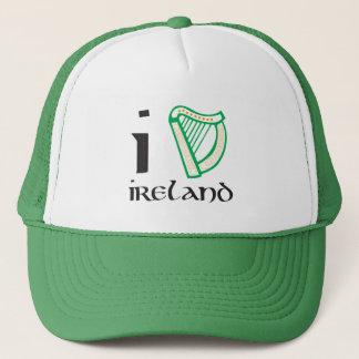 私はアイルランドの帽子を同じことをくどくど言います キャップ