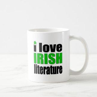 私はアイルランドの文献を愛します コーヒーマグカップ