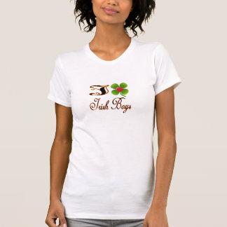 私はアイルランドの男の子のアイルランドのシャツを愛します Tシャツ