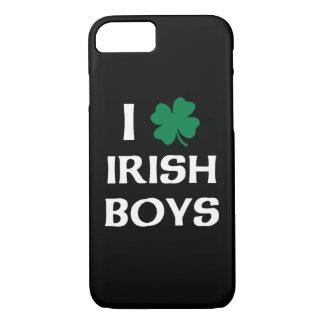 私はアイルランドの男の子を愛します iPhone 8/7ケース