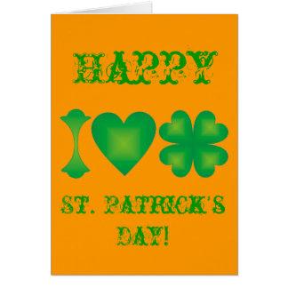 私はアイルランドを愛します カード
