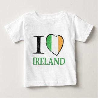 私はアイルランドを愛します ベビーTシャツ