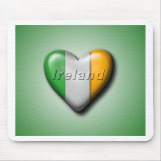 私はアイルランドを愛します マウスパッド