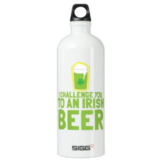 私はアイルランドビールに挑戦します ウォーターボトル