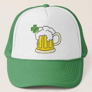 私はアイルランド語私保持します私のアルコール飲料のビールのジョッキのデザインをです キャップ