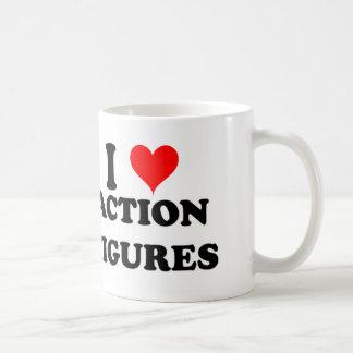 私はアクション・フィギュアを愛します コーヒーマグカップ