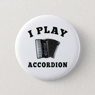 私はアコーディオンを遊びます 5.7CM 丸型バッジ