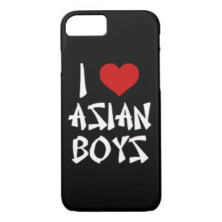 私はアジア男の子を愛します iPhone 8/7ケース