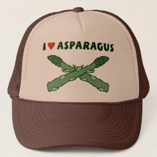 私はアスパラガスを愛します キャップ