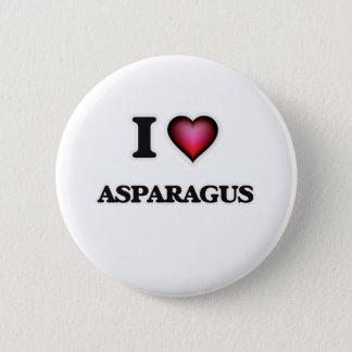 私はアスパラガスを愛します 5.7CM 丸型バッジ