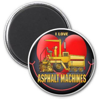 私はアスファルト舗装機械円形の磁石を愛します マグネット