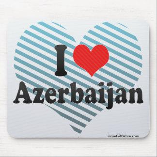 私はアゼルバイジャンを愛します マウスパッド