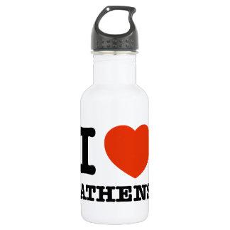 私はアテネを愛します ウォーターボトル