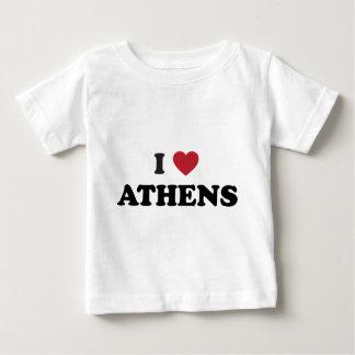 私はアテネジョージアを愛します ベビーTシャツ