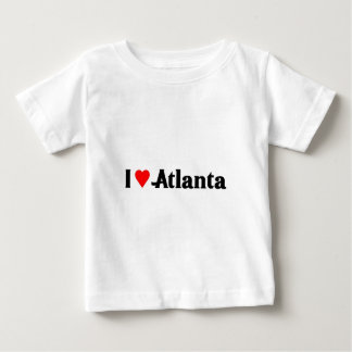 私はアトランタを愛します ベビーTシャツ