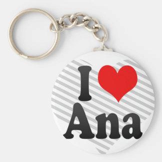 私はアナを愛します キーホルダー