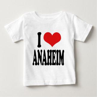 私はアナハイムを愛します ベビーTシャツ
