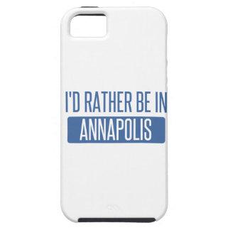 私はアナポリスにむしろいます iPhone SE/5/5s ケース
