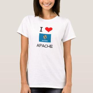 私はアパッシュオクラホマを愛します Tシャツ