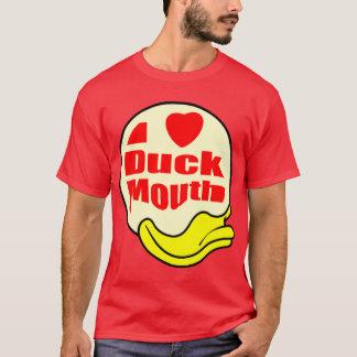 私はアヒルの口を愛します Tシャツ