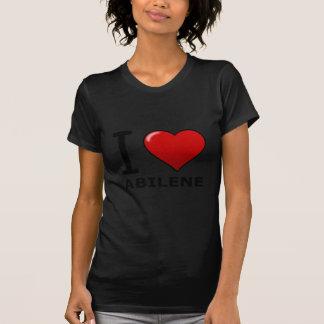 私はアビリン、TX -テキサス州--を愛します Tシャツ