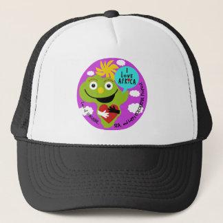 """""""私はアフリカ""""のトラック運転手の帽子愛します キャップ"""