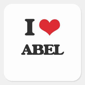 私はアベルを愛します スクエアシール