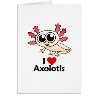 私はアホロートルを愛します カード