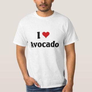 私はアボカドを愛します Tシャツ