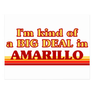 私はアマリロのちょっと大事です ポストカード