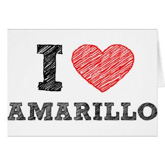 私はアマリロを愛します カード