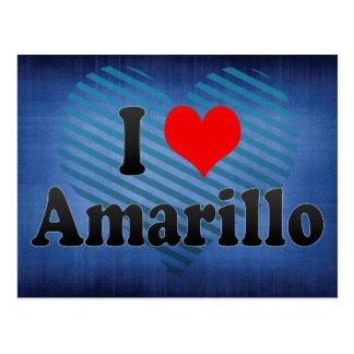 私はアマリロ、米国を愛します ポストカード