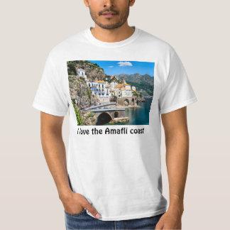 私はアマルフィの海岸を愛します Tシャツ