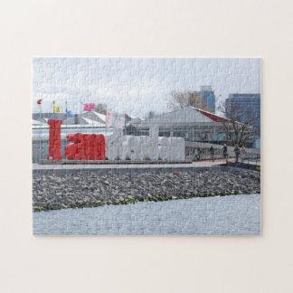 私はアムステルダムの印、オランダです ジグソーパズル