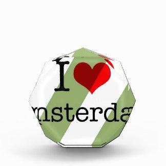 私はアムステルダムを愛します 表彰盾
