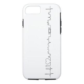 私はアムステルダム(ecgのスタイル)の記念品を愛します iPhone 7ケース