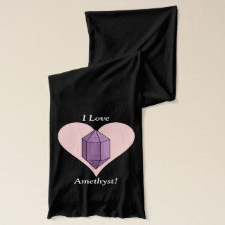 私はアメジストを愛します! スカーフ