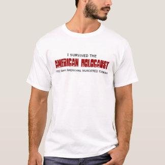 私はアメリカのホロコーストを生き延びました Tシャツ