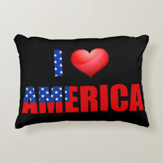 私はアメリカを愛します アクセントクッション