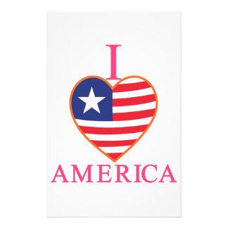 私はアメリカを愛します 便箋